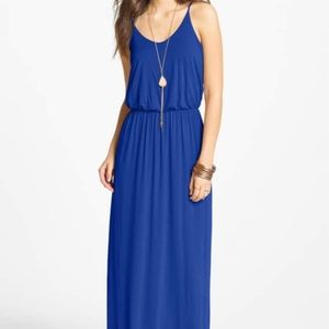 Royal Blue LUSH Maxi Dress from Nordstrom